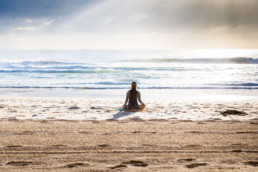 Workations work Out of office - Active yoga